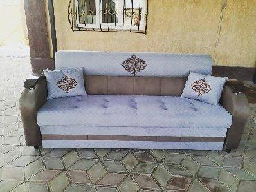 заменить фасады кухонной мебели в Кыргызстан: Диван-кровать  ▪На заказ  ▪Цвета твани на выбор  ▪Размер 2'25* 1'45  ▪