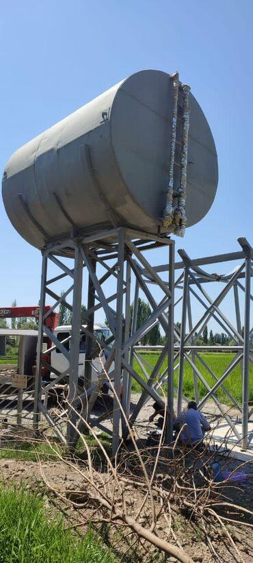 авто в рассрочку в джалал абаде in Кыргызстан | TOYOTA: Бочка объём 25 куб со стойкоми готовая вышка для