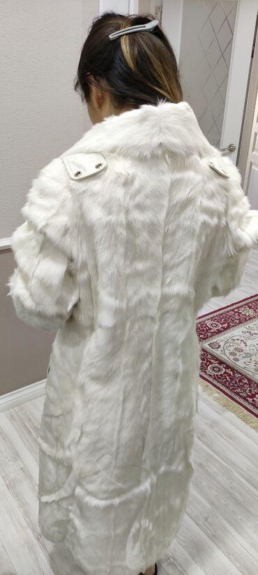 женское платье 54р в Кыргызстан: Продаётся женская шубаПроизводство ТурцияРазмер MЦвет белыйСостояние