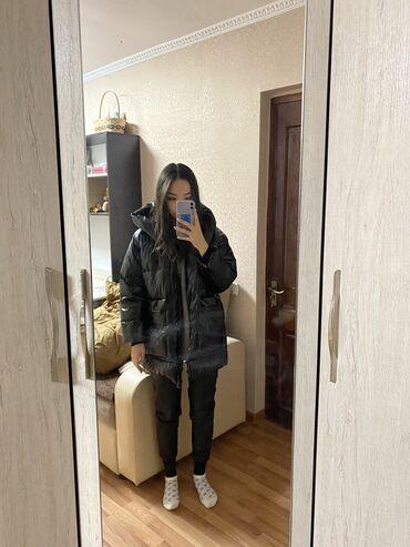 Куртка оверсайз,новая,очень тёплая,качество отличное,очень стильная