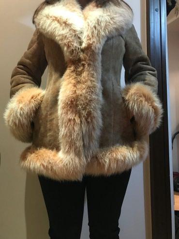 дублёнку женскую в Кыргызстан: Продам дубленку женскую (натуральный мех и кожа) 46-48 размер, рост