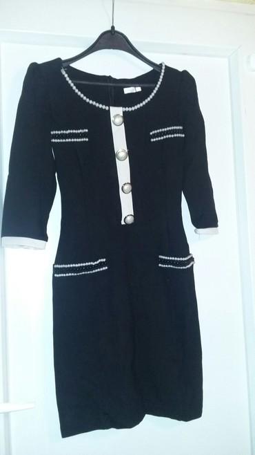 Moderna lasteks haljina savrseno krojena sa tri cetvrt - Bogatic