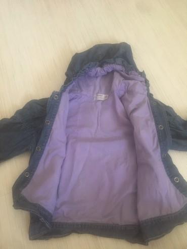 Postavljena teksas decja jaknica,za prelazni period.Maksimalno ocuvana - Leskovac