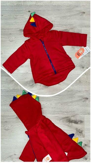 """Детская курточка """"Дино"""". Размер 90,100(2-3 годика)"""
