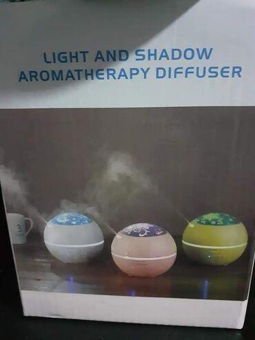 Ostalo za kuću | Krusevac: Mogućnost menjanja 6 različitih led boja svetla2 U 1LED MIRISNA LAMPA