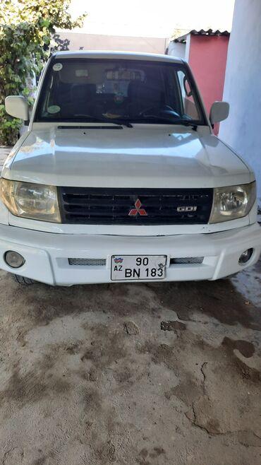 114 elan   NƏQLIYYAT: Mitsubishi Pajero 1.8 l. 1999