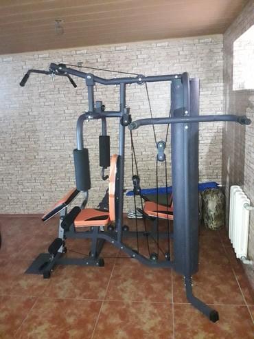 Продаю новый уневерсальный тренажер, цена 2500$ торг  уместен. тел:,  в Бишкек