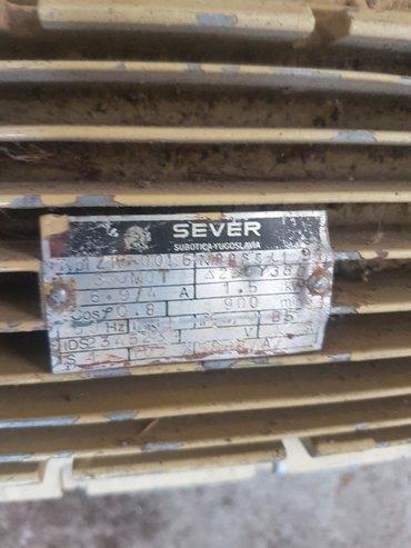 Cetnici sever - Srbija: Motor SEVER u ispravnom stanju . 1.5 kw 900 o/min