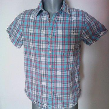 Muška odeća | Svilajnac: Razne muske kosulje kratkih rukava. Sve su L osim cetvrte po redu