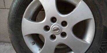 б у резина летняя в Кыргызстан: Резина новая полный комплект и четыре диска