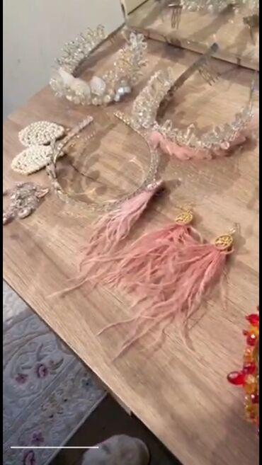 Свадебные аксессуары - Новый - Бишкек: Hand Made  Украшения ручной работы от 500 с