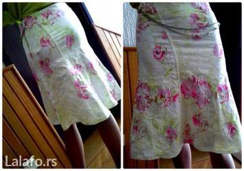 vibrant floral divna suknjavel. l - Loznica