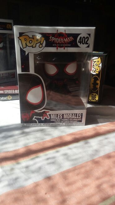 Funko Pop Miles Morales(Spider man into the spider-verse) Number: 402