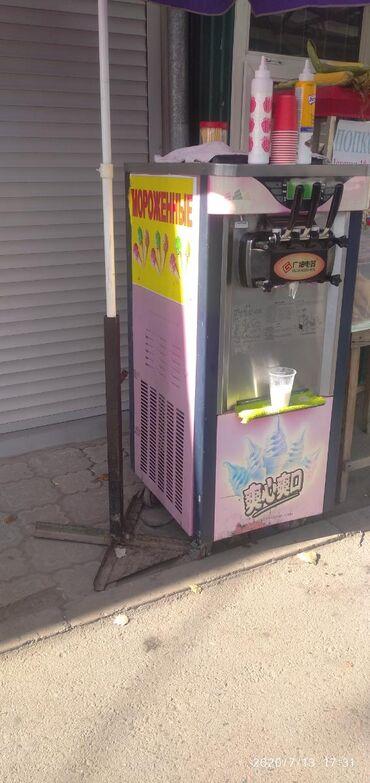 Мороженое апарат сатам иштеши зынк жакшы!!!
