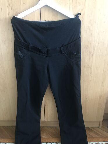 Продаю брюки с начесом для беременных 44 размер, отлично сидят!