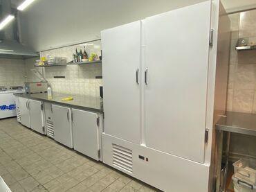 мойка для кафе бу в Кыргызстан: Холодильные шкафы. Столы холодильные