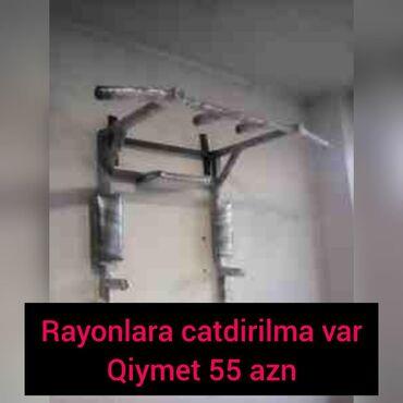 Turnik - Azərbaycan: Turnik bruss press 3v1Qalin profilnen yigilir250 kq cekiye dozumlu2 il