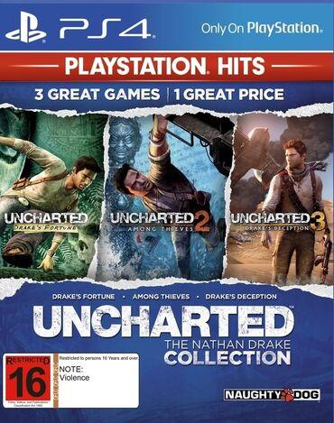 Uncharted collection. Tam rəsmi orginal LİSENZİYALI Sony PlayStation 4