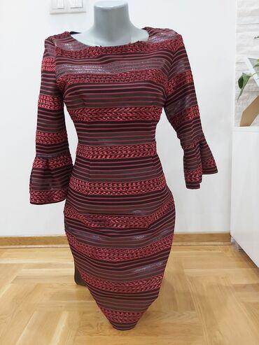 Haljina st - Srbija: Prelepa vecernka kratka haljina,jednom obucena.Fenomenalno stoji