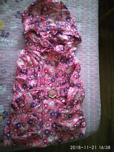 Куртка весна осень на 3-5 лет, в хорошем состоянии  в Бишкек