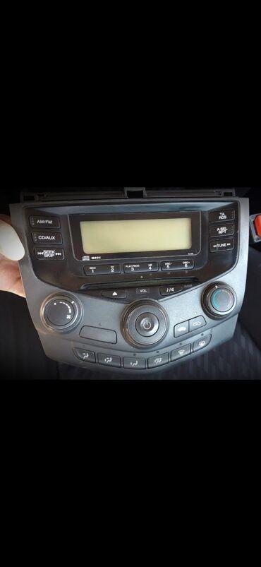 Honda Accord cl7 Магнитола2004левый рульевропейка#магнитафон