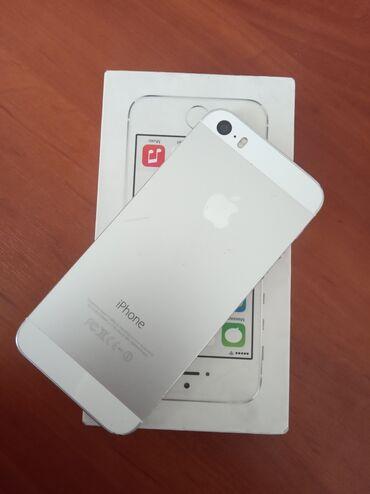 Apple Iphone - Кыргызстан: Б/У iPhone 5s 16 ГБ Белый
