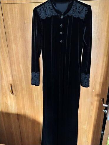 Продаю платье королевский велюр, размер 48-50сшито на