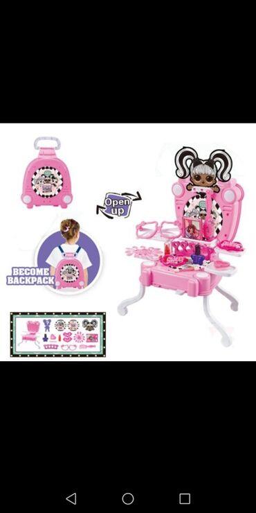 Stilo - Srbija: Set igračaka LOL Surprise sto za igru / ranac / kofer1.250rsdLako se