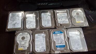 Продаются жёсткие диски 5 штук по 80 гигов(каждый по 150 сом),2 по 160