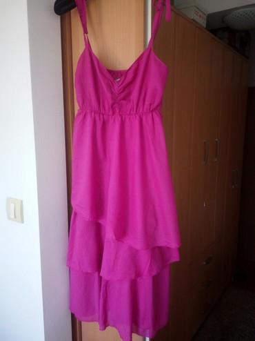 Haljine - Cacak: Lepa,mekana,letnja haljina,jednom obučena.Marka Happening, veličina