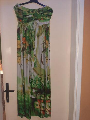 Duga leprsava haljina - Kraljevo: Akciija!!! Duga haljina, mokra likra! Novaa! Prelagana i kvalitetna