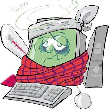 Bakı şəhərində Kompyuterlerin temiri,formati-10 AZN Antivirus yazilmasi-10 AZN
