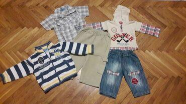 Paket odeće - Sivac: Paket za dečake od 9-12mes