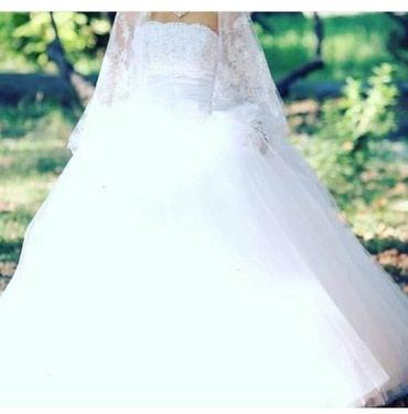 Продаю свадебное платье нежное, в Бишкек