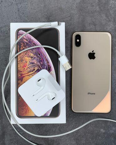 Рассрочка на телефон - Кыргызстан: IPhone XS Max 512Gb Полный оригинал комплект, с коробкой     •Оформляе