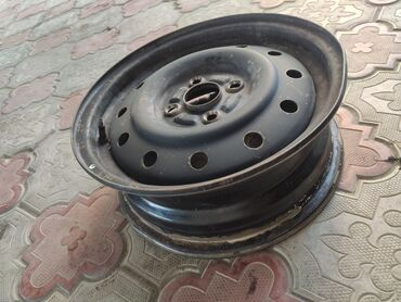 железные диски r14 в Кыргызстан: Диск железный R14 TOYOTA PASSO ровный не варенный не катанный 4х