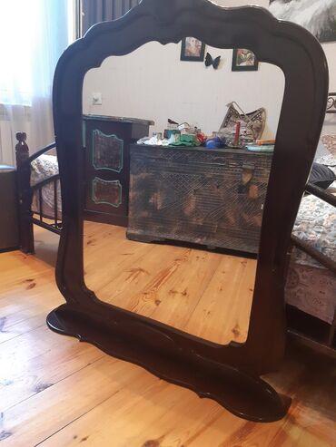 Декор для дома в Азербайджан: Зеркало,guzgu,от трюмо,но совершенно может стрять самостоятельно без