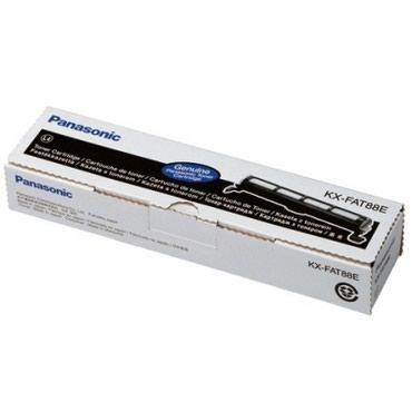 Черный тонер-картридж Panasonic KX-FAT88E (ORIGINAL) .Panasonic
