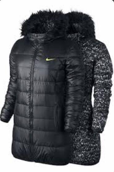 продажа кур несушек в бишкеке в Кыргызстан: Продаю куртку Nike двусторонняя. Размер М. Состояние хорошее(только