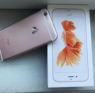 чехол iphone 6s в Азербайджан: Б/У iPhone 6s 16 ГБ Золотой