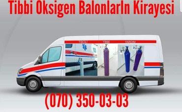 Bakı şəhərində Tibbi Oksigen Balonlarİn Gundelik Kirayesi