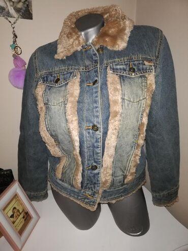 Futrovana tekss jakna debela može zimska  Firmiran