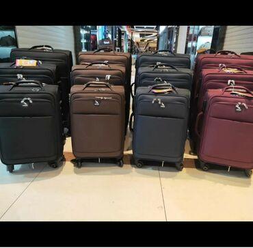 Другое - Таджикистан: Дорожные чемоданы высшего качества  На четырёх колесиках