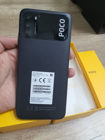 Мобильные телефоны и аксессуары - Кыргызстан: Poco m3  Camera 48mp Battery 6000mAh Snapdragon 662 Первоначальный вз