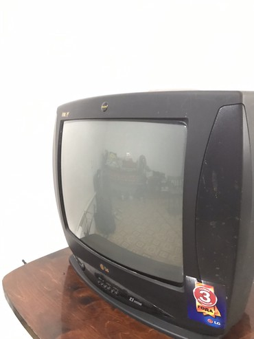 lg телевизор цветной в Кыргызстан: Продаю б/у телевизор в отличном состоянии LG 50 см диагональ экрана в