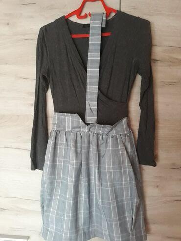 Duga haljina - Srbija: Svecana haljina sa dugim rukavimaBy meVelicina univerzalnaDodatak kais