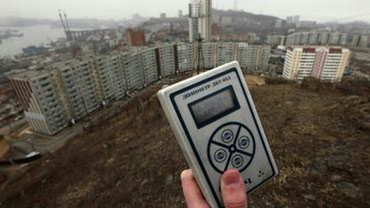 Замер уровня радиации в г.Токмок и в Токмак