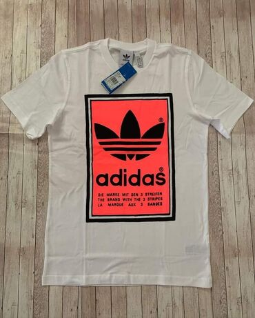Majica adidas sweatshirt - Srbija: Original muske majice, novo Adidas S, M