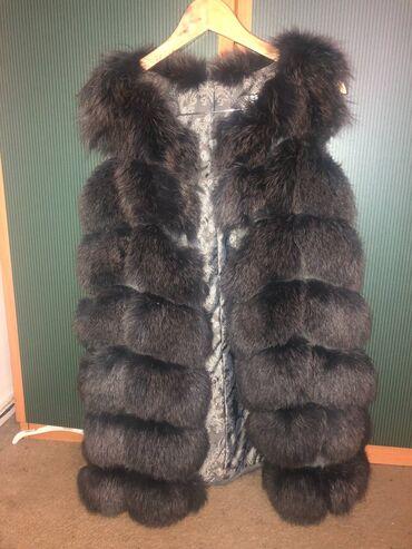 Жилетки - Кыргызстан: Продаётся меховая жилетка, надевали пару раз в сезон. Хранилась