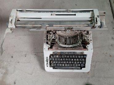 швейная машинка пмз в Кыргызстан: Продаю сатылат  Печатная машинка  Машинка печатная  СССР печатная